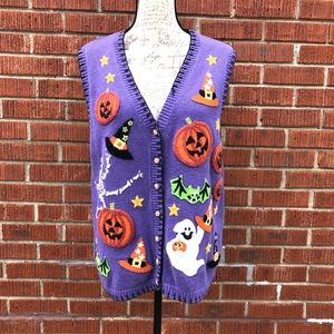 Heirloom Collectibles Vintage ugly Halloween Vest